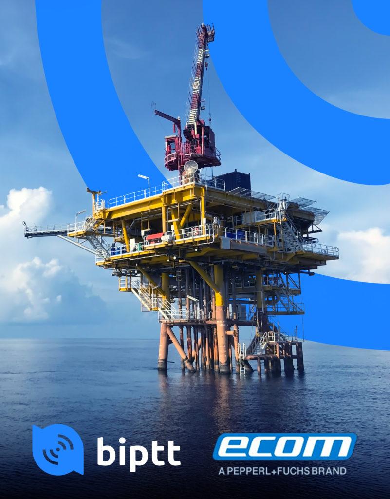 BiPTT rodando em dispositivos robustecidos e intrinsicamente seguros para áreas classificadas (como plataformas de petróleo, portos e indústrias)