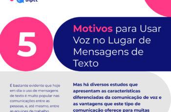 5 Motivos para usar a Voz no Lugar de Mensagens de Texto.